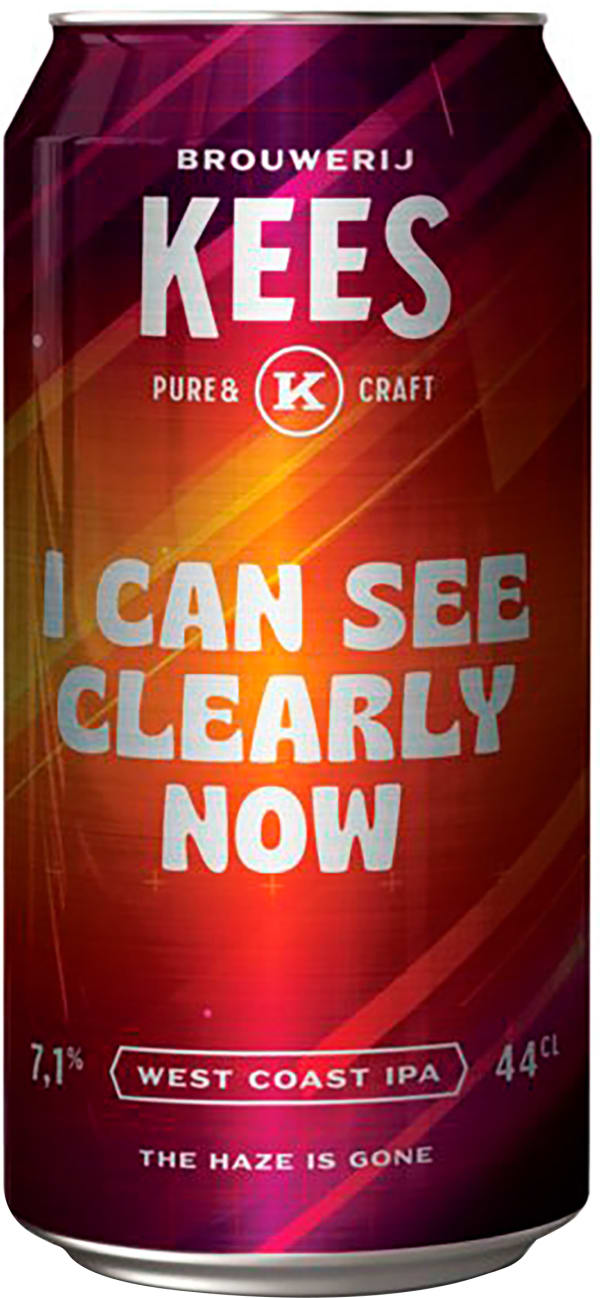 Kees I Can See Clearly Now West Coast IPA can