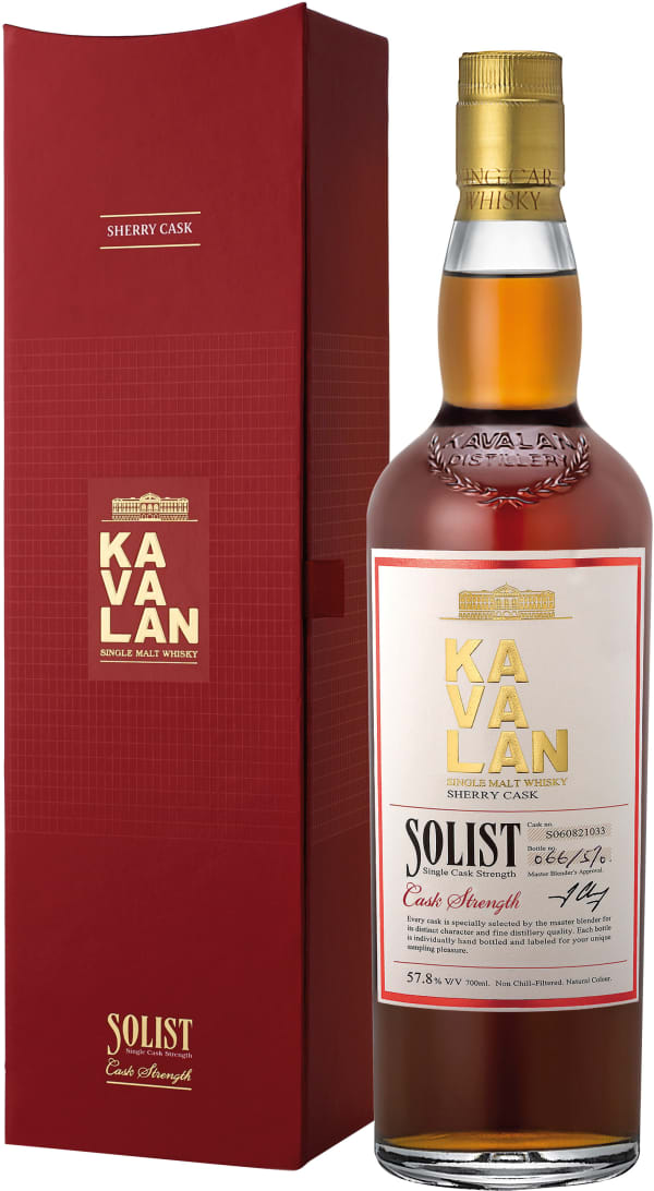 Kavalan Solist Sherry Single Cask Strength Single Malt