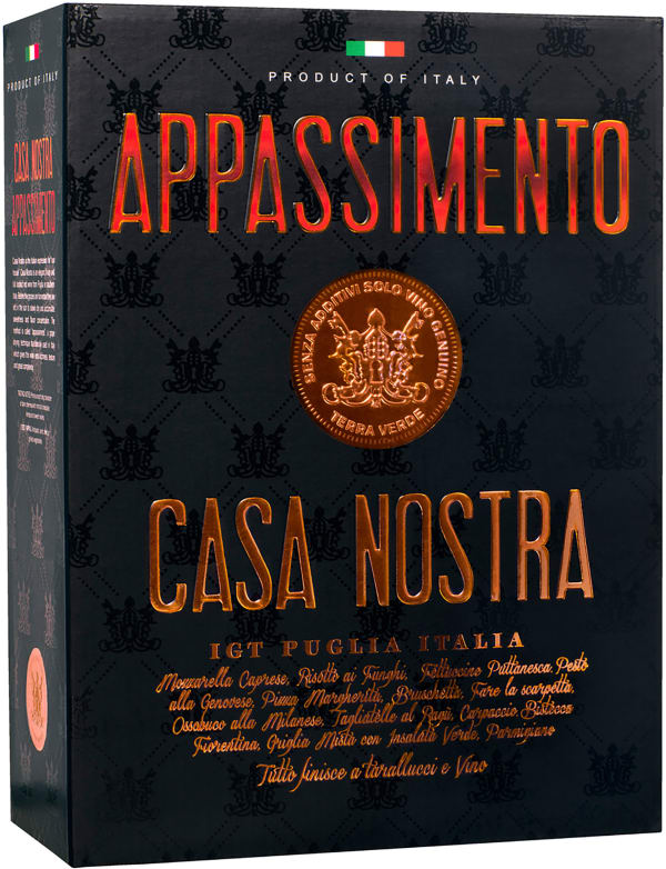 Casa Nostra Appassimento bag-in-box