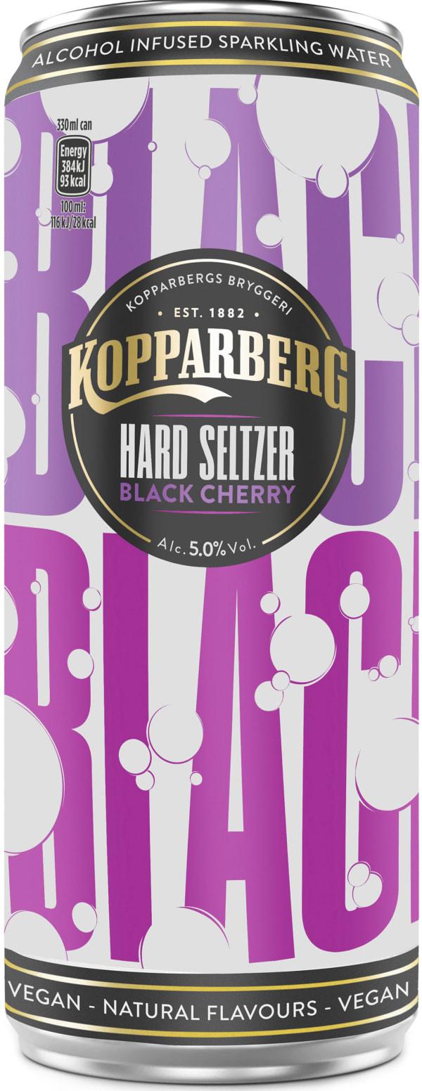 Kopparberg Hard Seltzer Black Cherry can