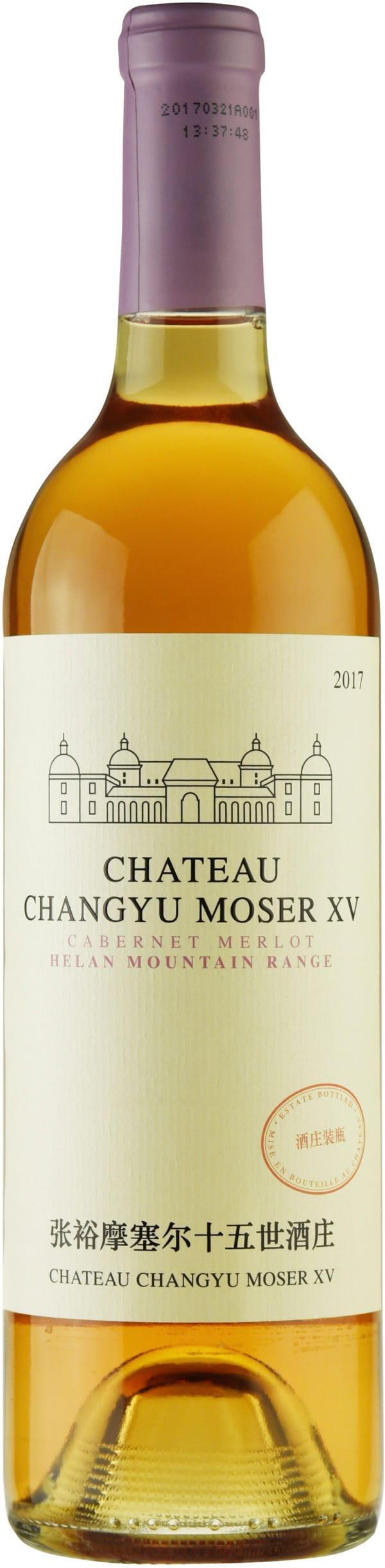 Moser XV Helan Mountain Cabernet Merlot Rosé