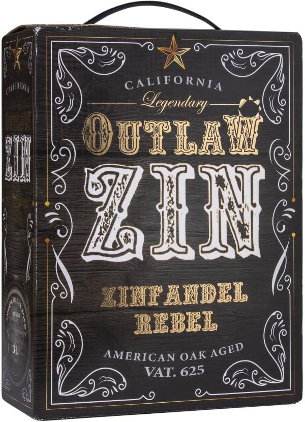 Outlaw Zinfandel 2018 lådvin