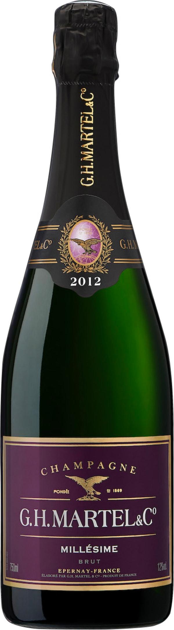 G.H. Martel Collection Familiale Blanc de Blancs Champagne Brut 2002
