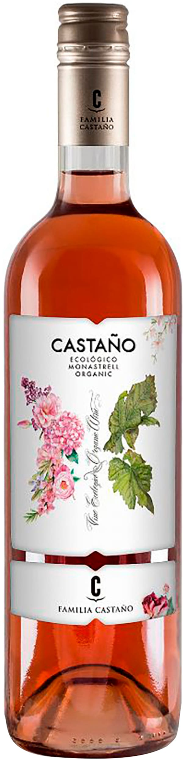 Castaño Monastrell Ecologico Rosé