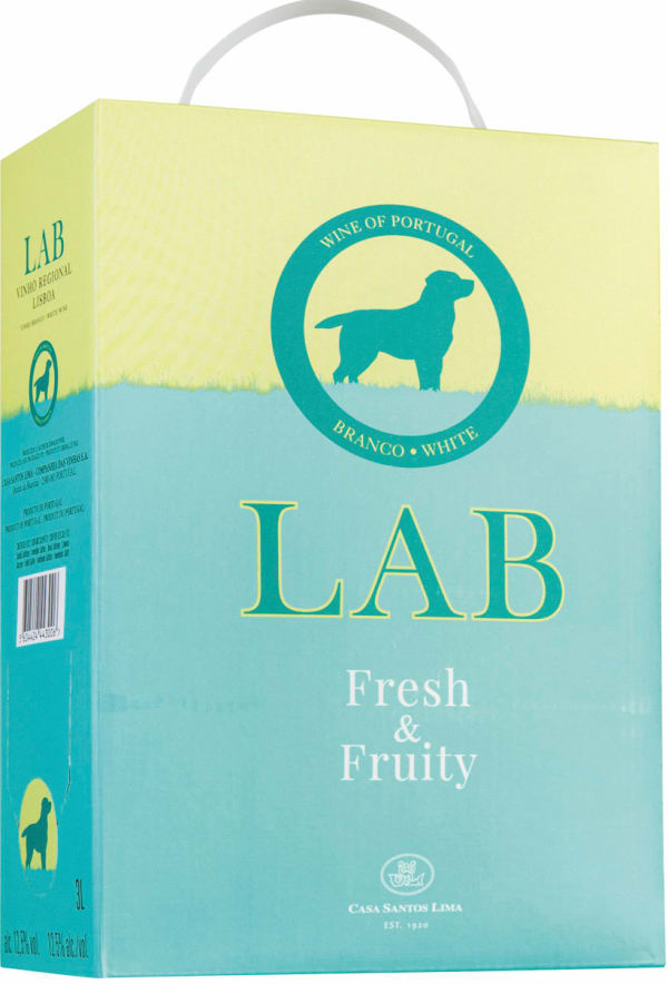 LAB Fresh & Fruity Branco White  2019 bag-in-box