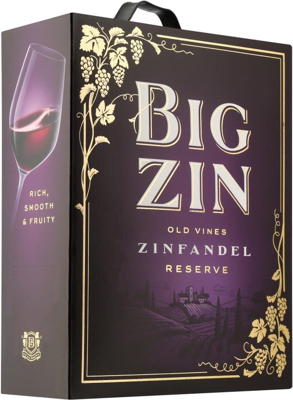The Big Zin Zinfandel 2017 hanapakkaus