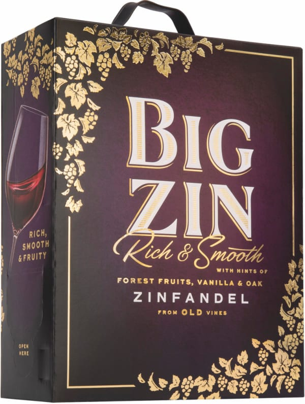 The Big Zin Zinfandel 2019 bag-in-box