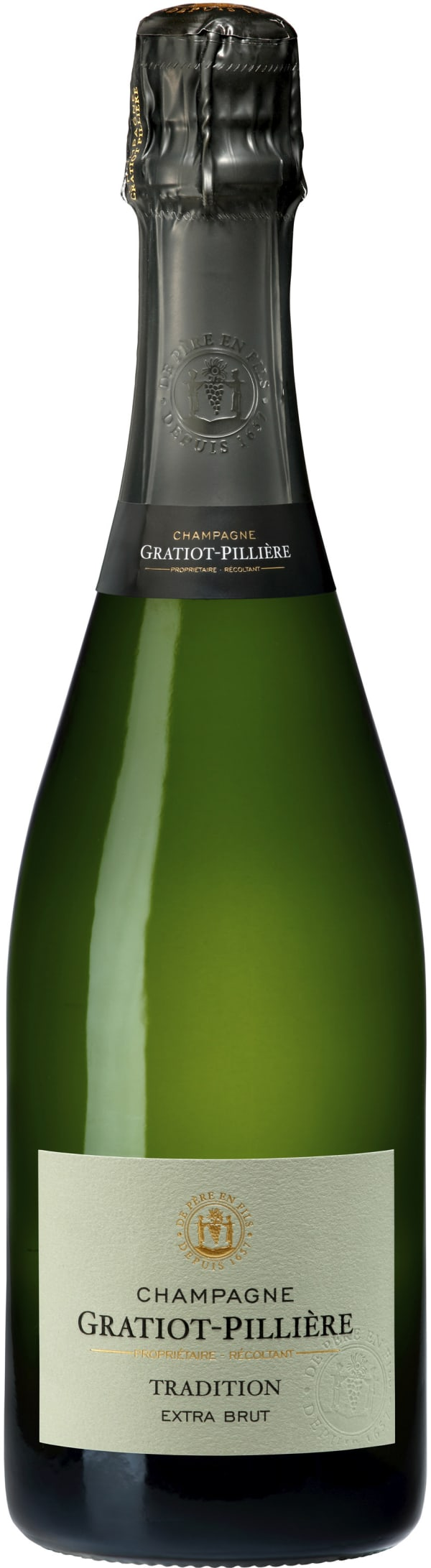 Gratiot Pilliére Tradition Champagne Extra Brut