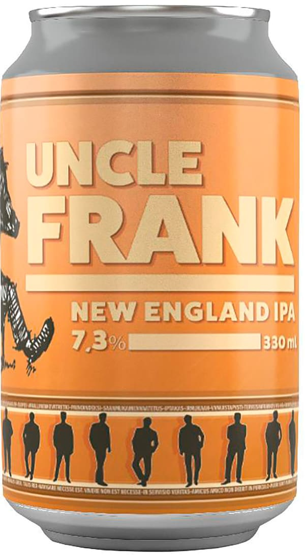 Tired Uncle Uncle Frank New England IPA burk