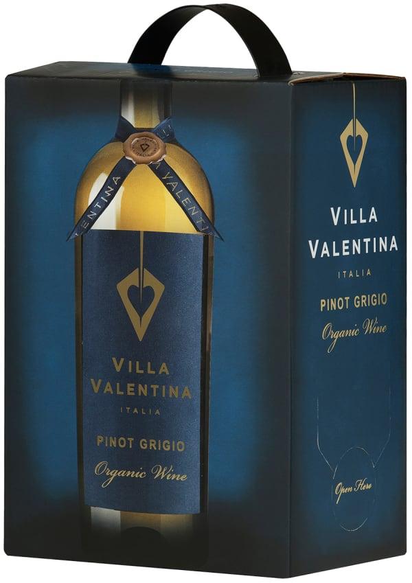 Villa Valentina Organic Pinot Grigio  2017 hanapakkaus