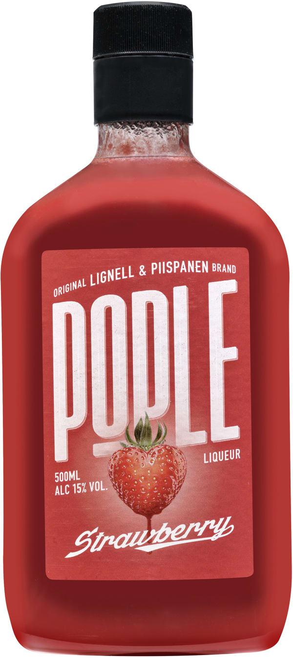 Pople Strawberry plastic bottle