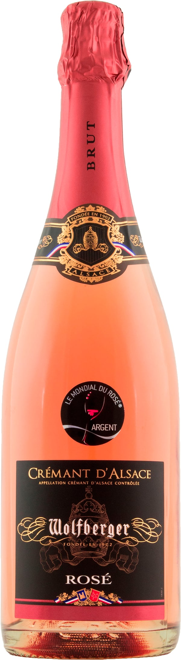 Wolfberger Crémant d'Alsace Rosé Brut