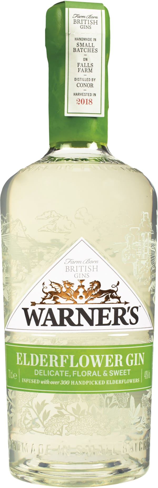 Warner`s Elderflower Gin