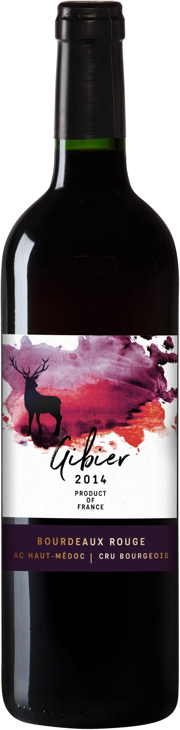 Gibier Bordeaux Rouge 2014
