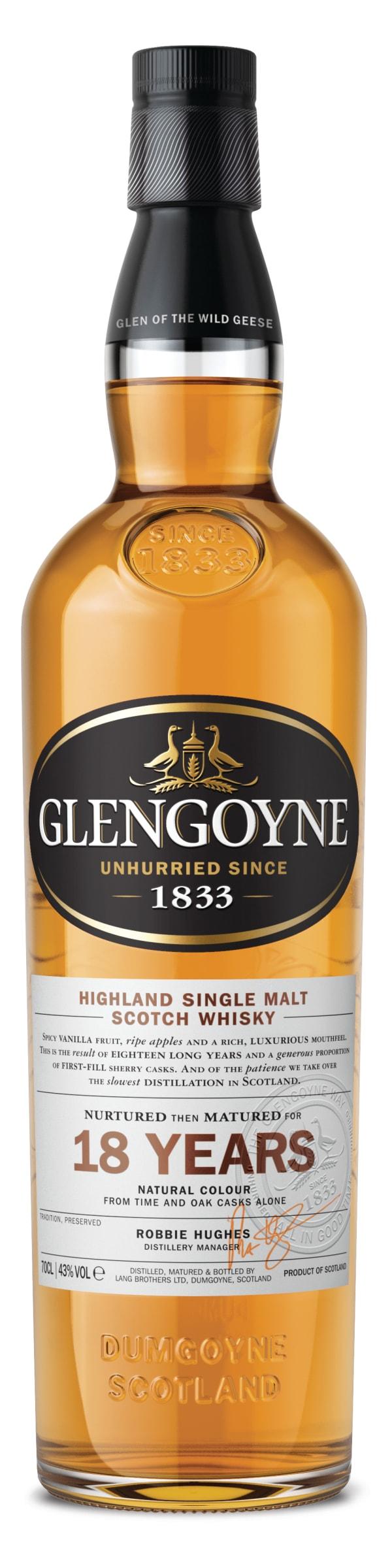 Glengoyne 18 Year Old Single Malt