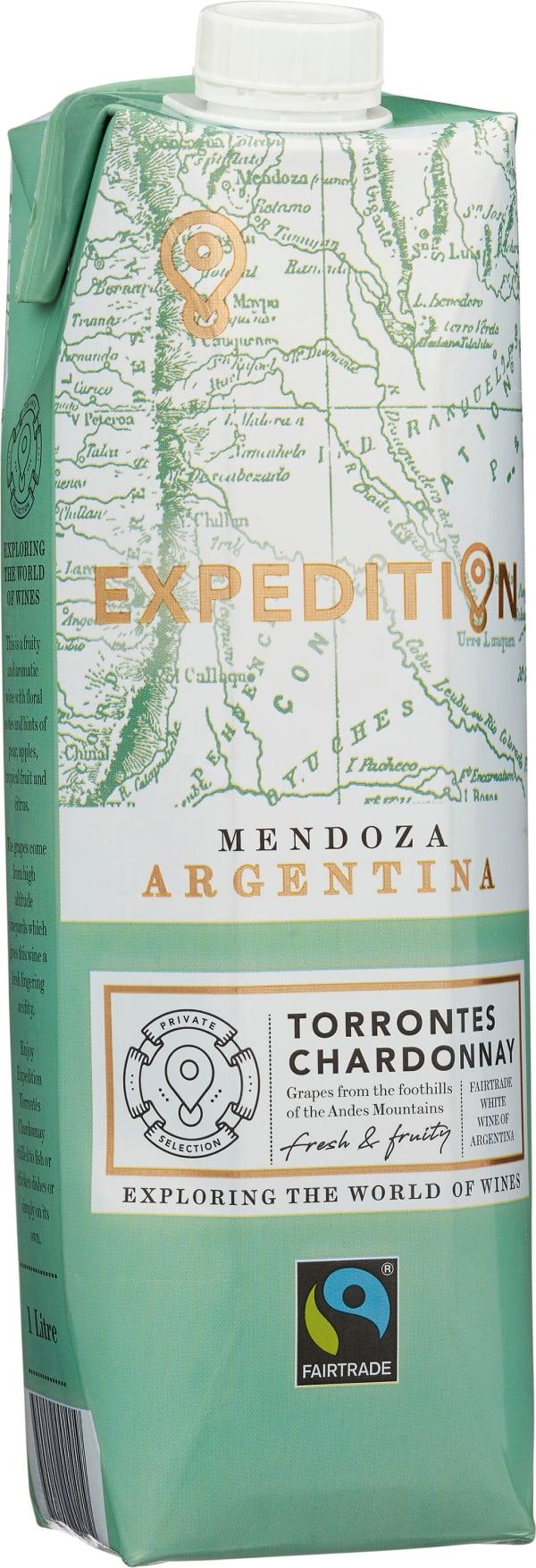 Expedition by Finca Las Moras Torrontés Chardonnay 2019 carton package