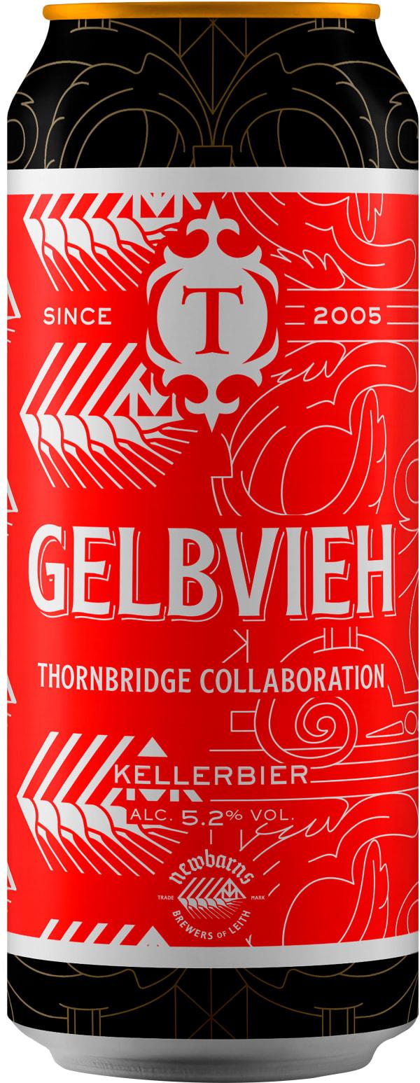 Thornbridge Gelbvieh Kellerbier can