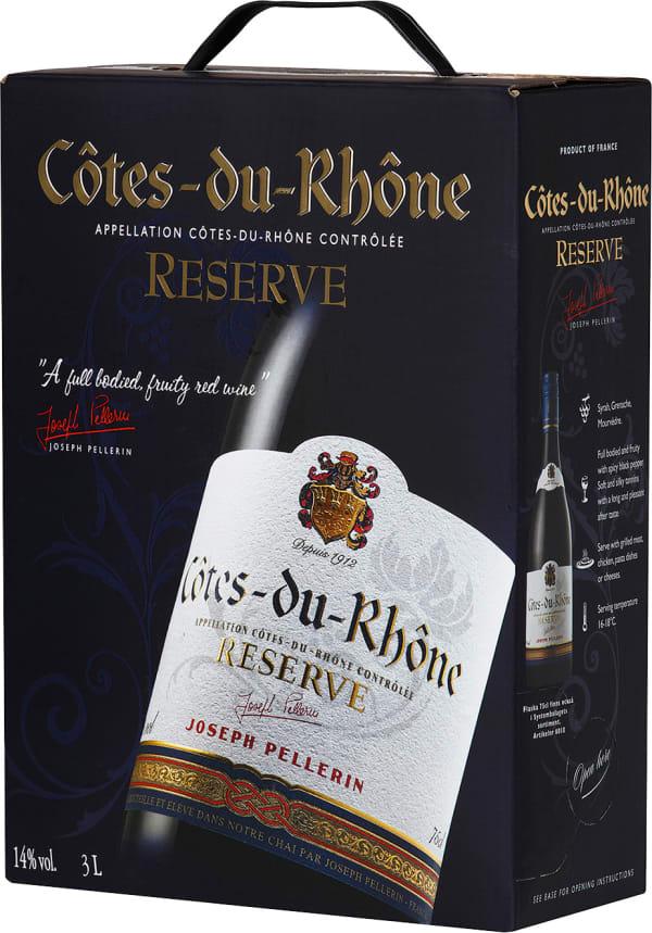 Pellerin Côtes du Rhône Reserve  2018 bag-in-box