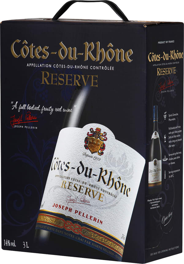 Pellerin Côtes du Rhône Reserve  2019 bag-in-box