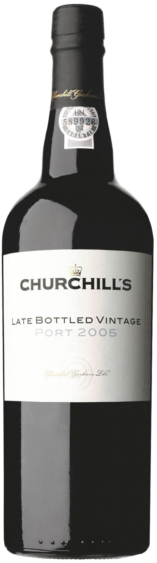 Churchill's Late Bottle Vintage Port 2005