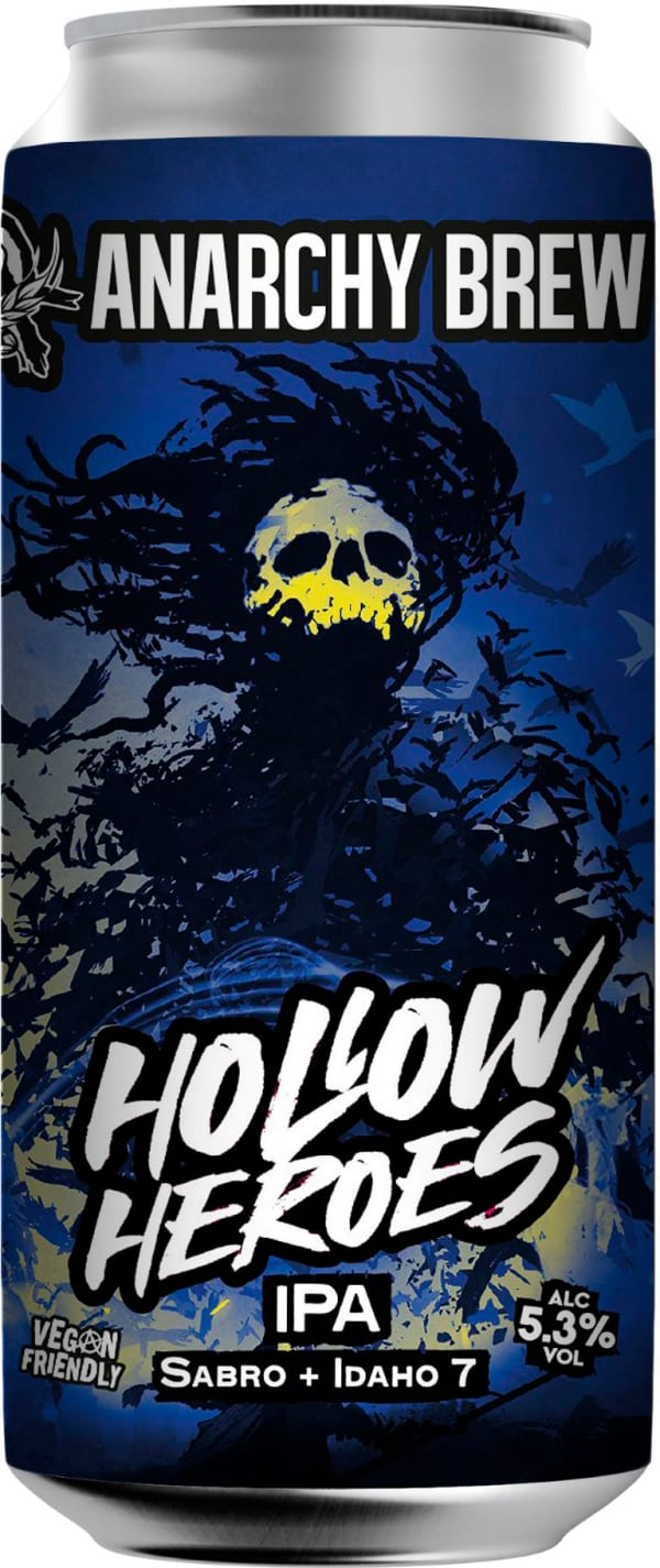 Anarchy Hollow Heroes IPA burk