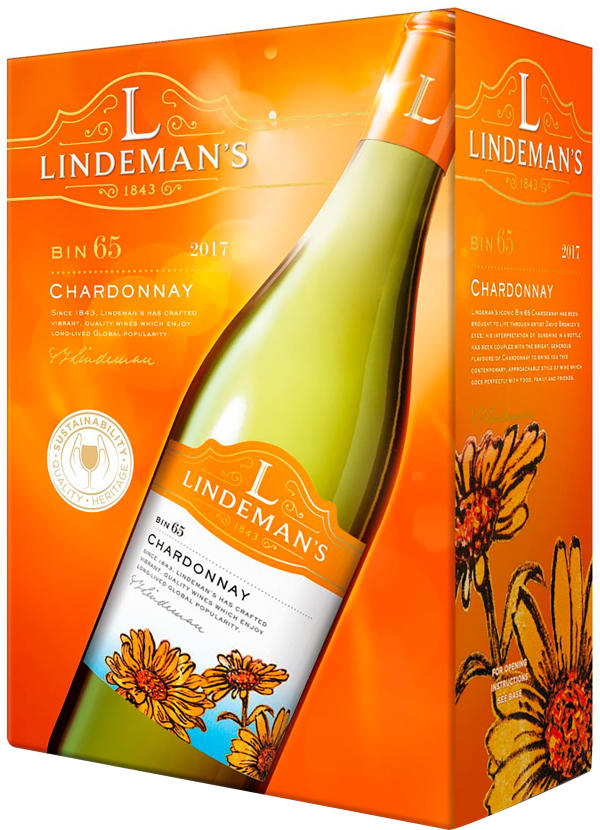 Lindemans Bin 65 Chardonnay 2018 bag-in-box