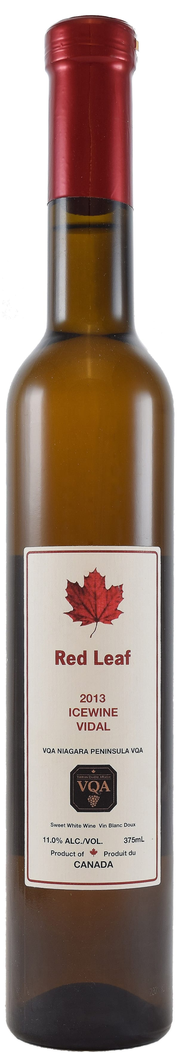 Red Leaf Vidal Icewine 2015