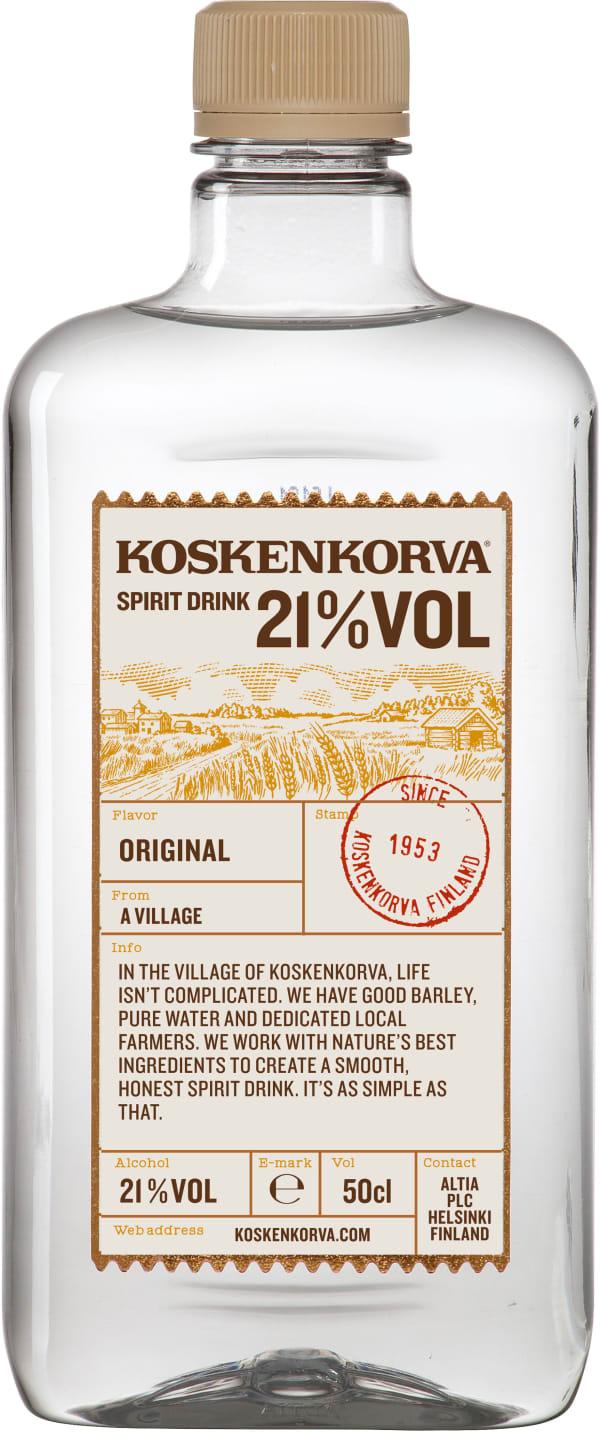 Koskenkorva Spirit Drink 21% plastic bottle