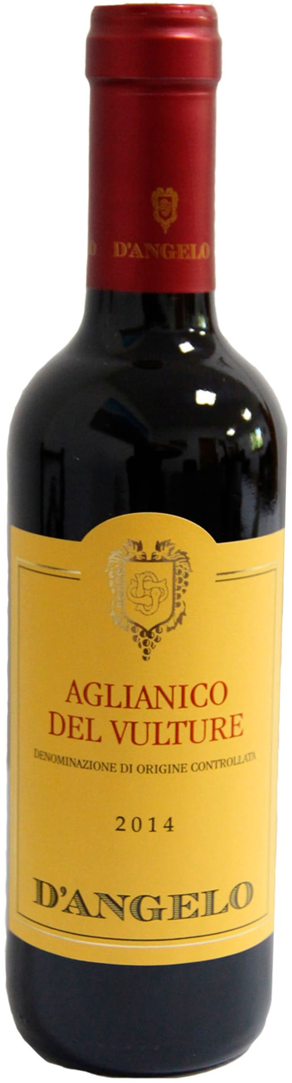 D'Angelo Aglianico del Vulture 2014