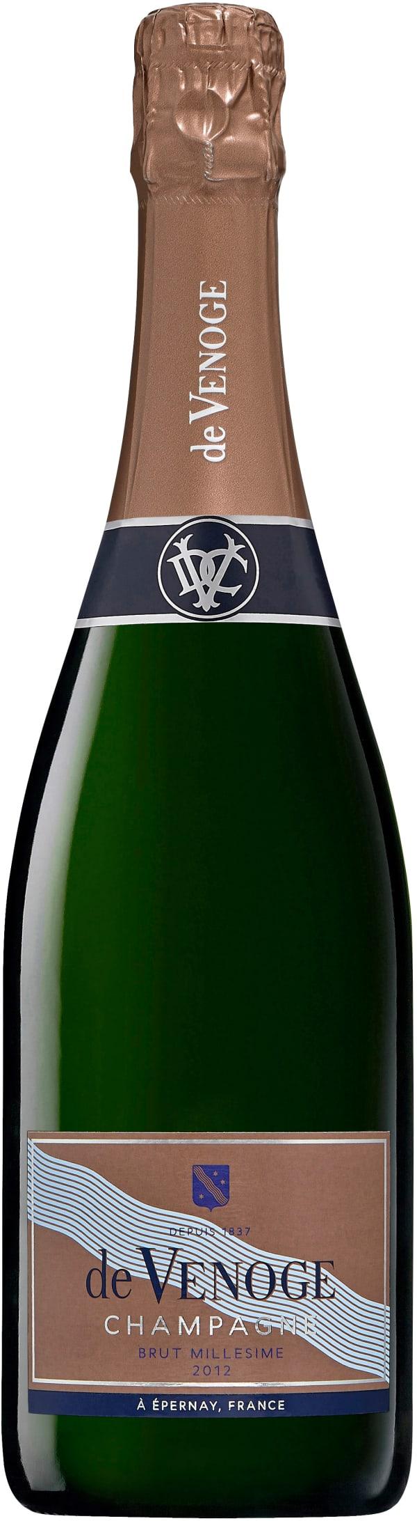 de Venoge Millésimé Champagne Brut 2012