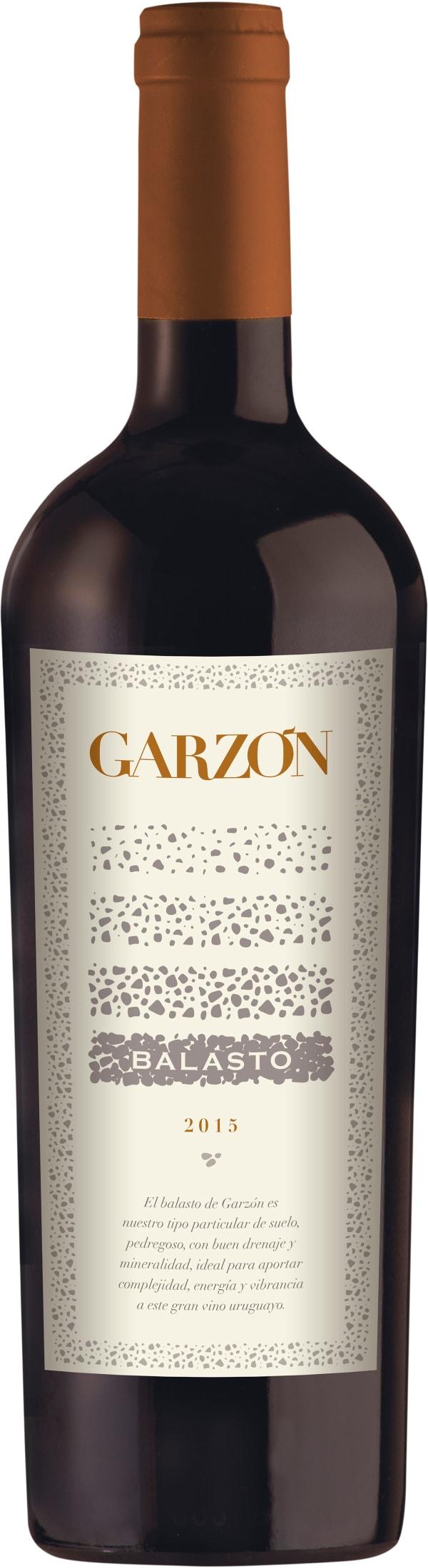 Garzón Balasto 2015