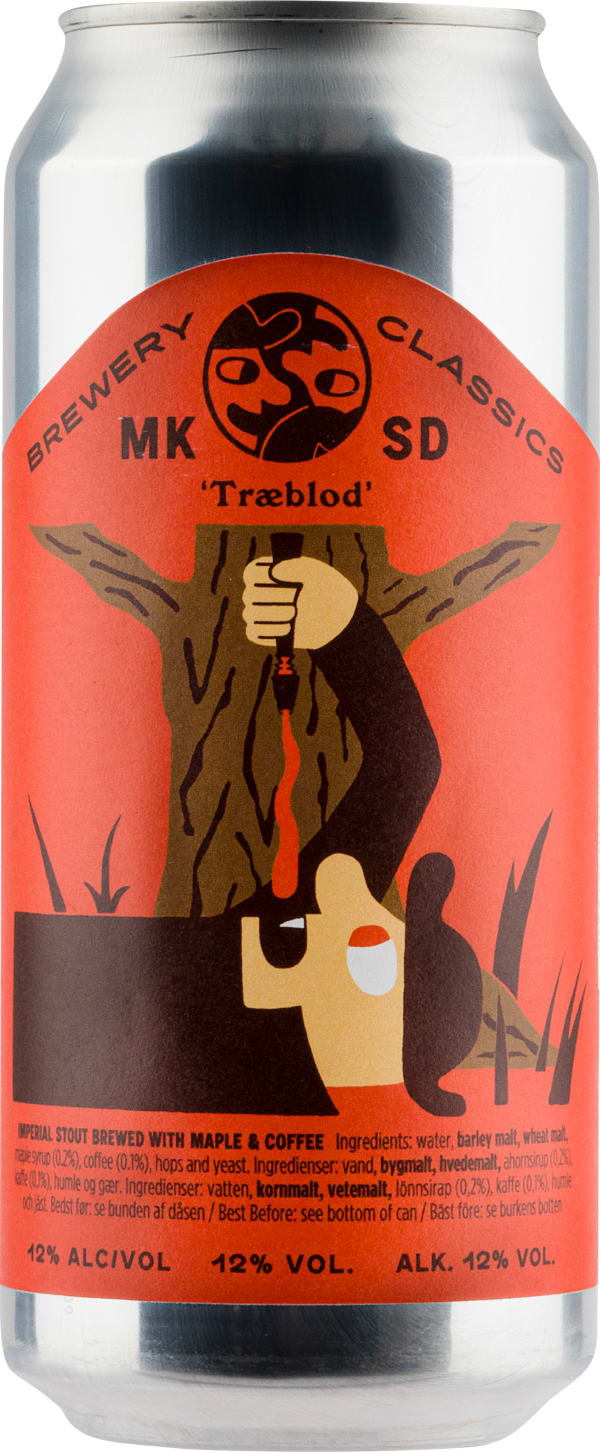 Mikkeller Træblod Imperial Stout with Maple & Coffee can