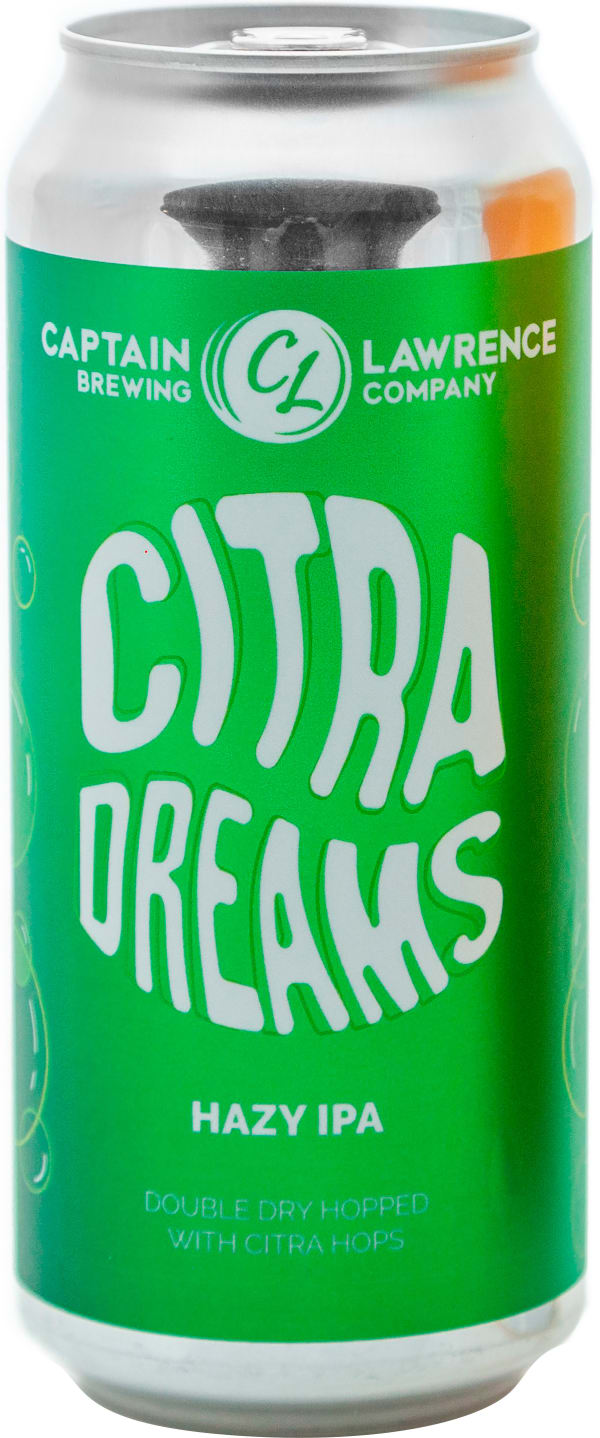 Captain Lawrence Citra Dreams Hazy IPA can
