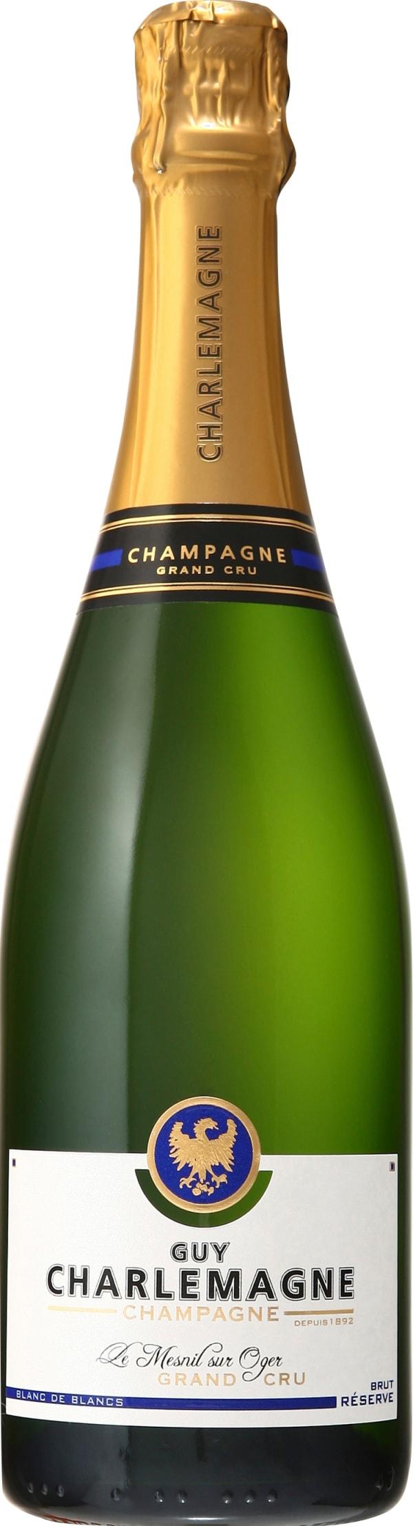 Guy Charlemagne Grand Cru Blanc De Blancs Champagne Brut