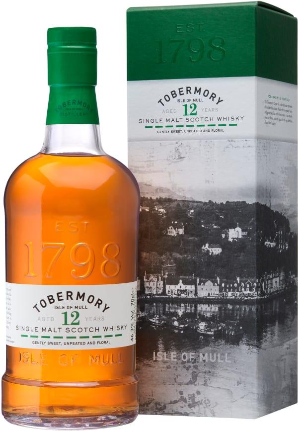 Tobermory 12 YO Single Malt Scotch Whiskey