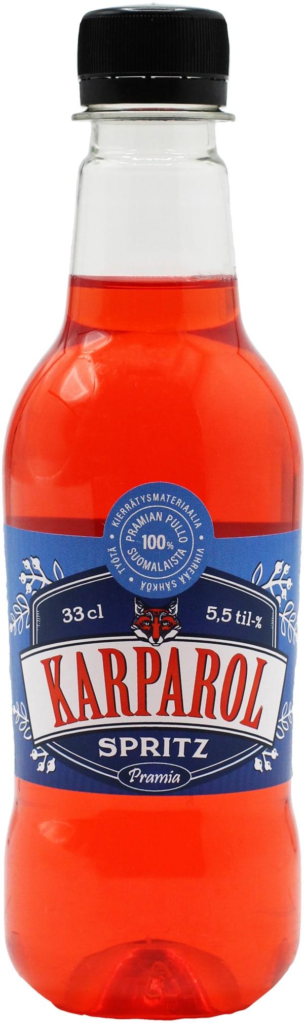 Karparol Spritzer plastic bottle