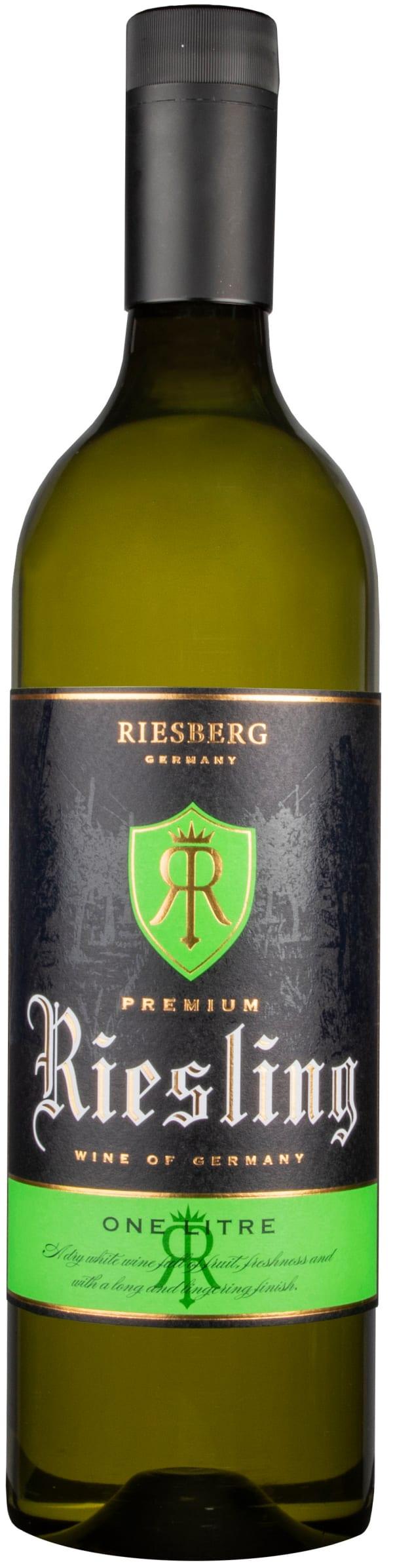 Riesberg Premium Riesling 2018 plastic bottle
