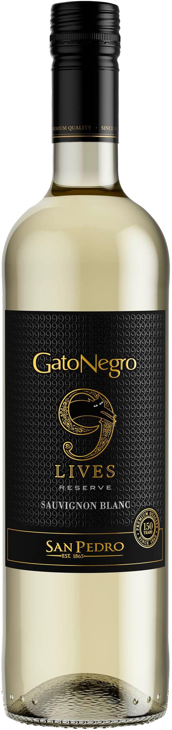 Gato Negro 9 Lives Sauvignon Blanc Reserve 2019
