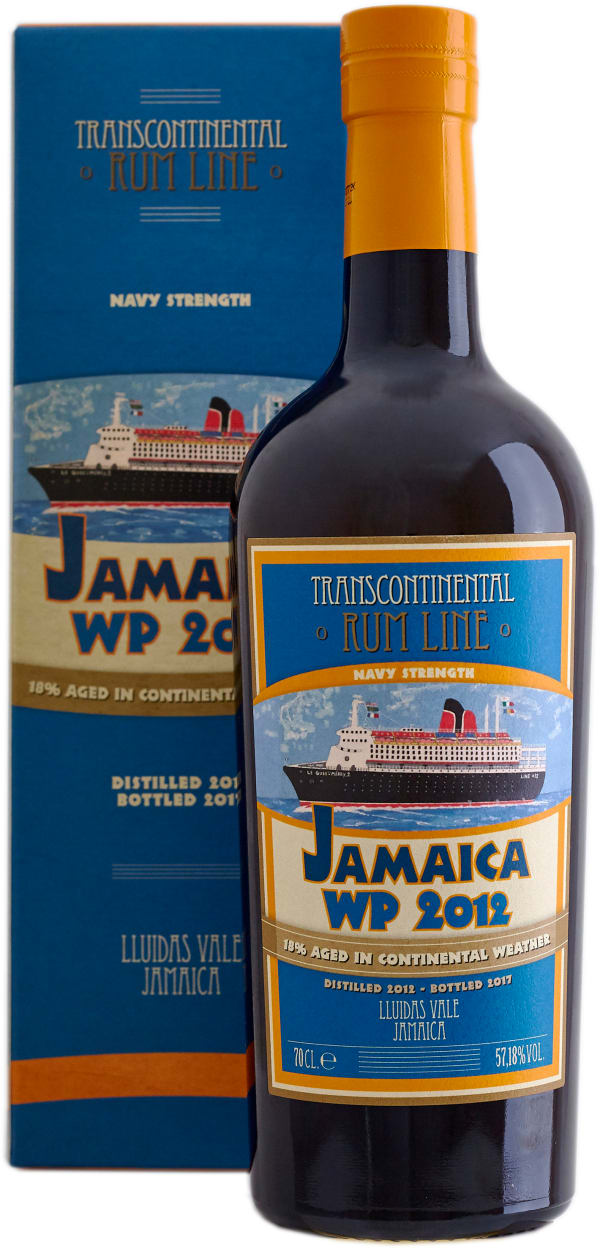 Transcontinental Rum Line Jamaica WP Navy Strenght 2012