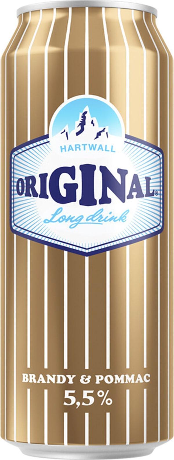 Original Long Drink Brandy & Pommac can
