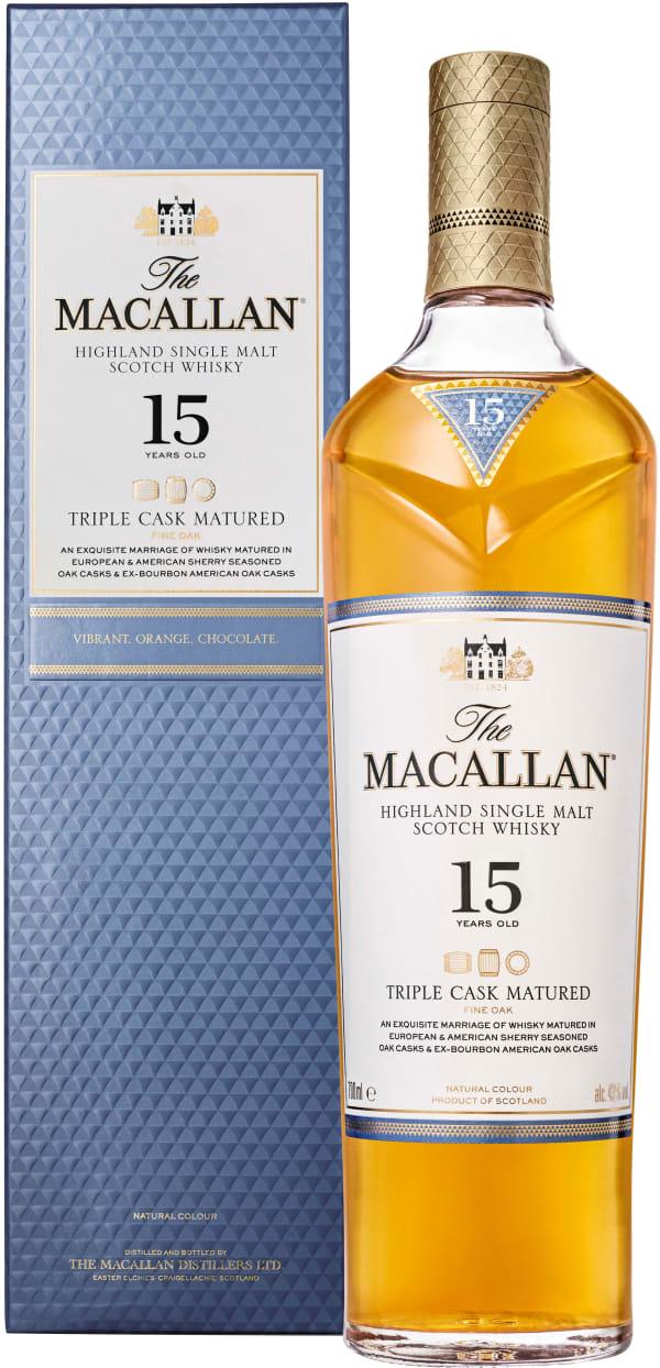 The Macallan Triple Cask 15 Year Old Single Malt