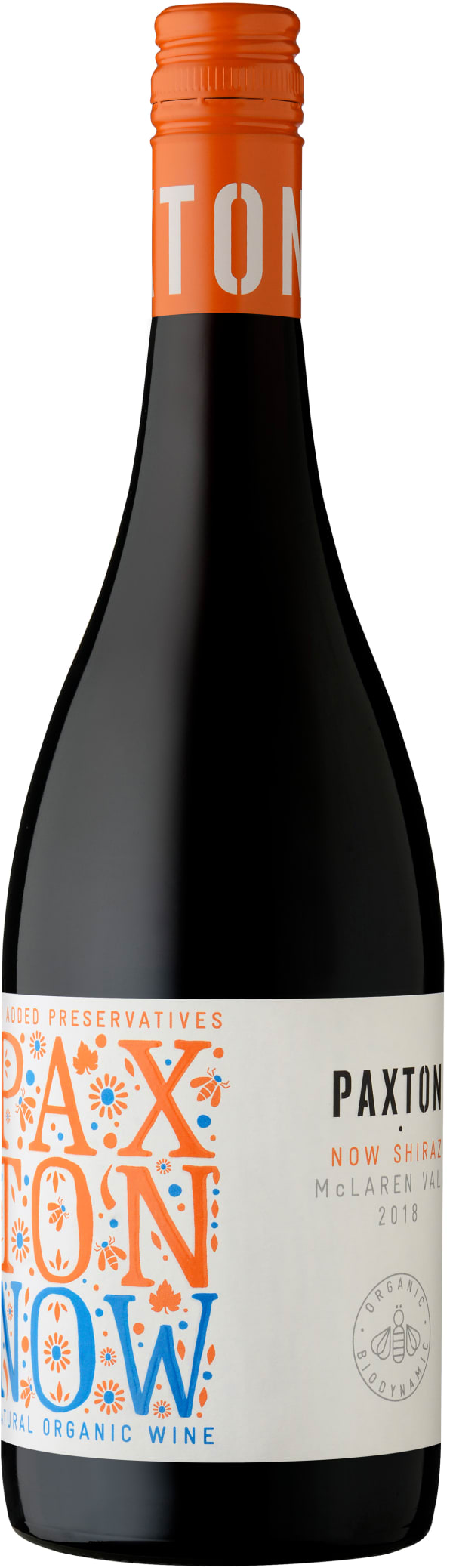 Paxton Now Organic Shiraz 2018