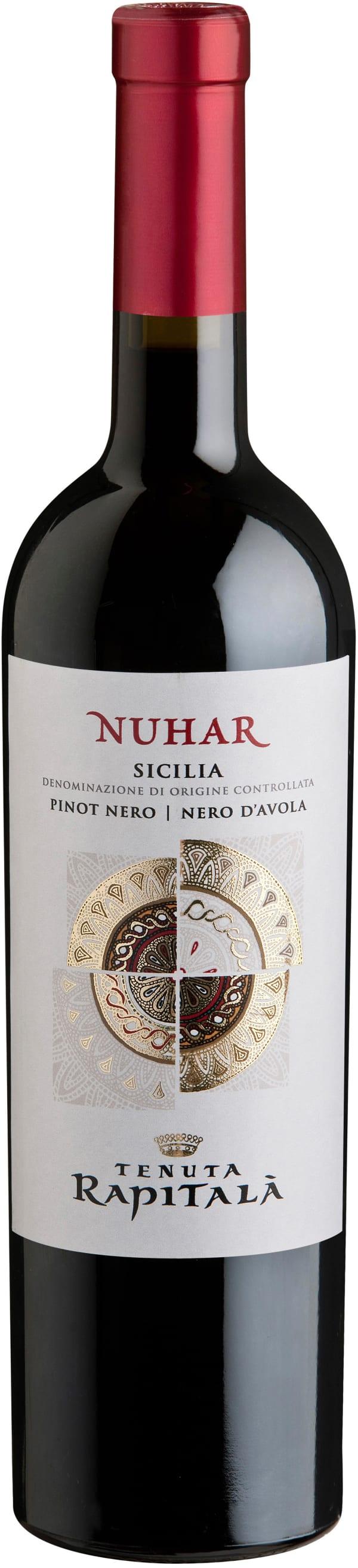 Rapitala Nuhar Pinot Nero Nero d'Avola 2015