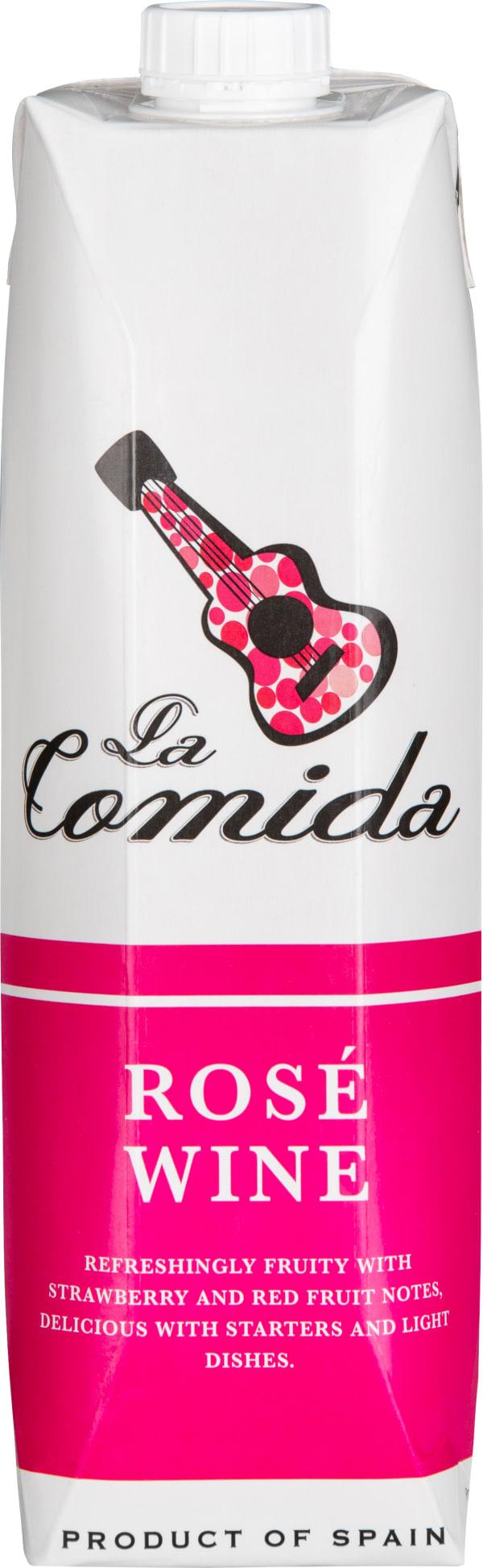 La Comida Rosé kartonkitölkki