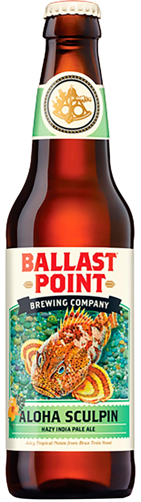Ballast Point Aloha Sculpin Hazy IPA