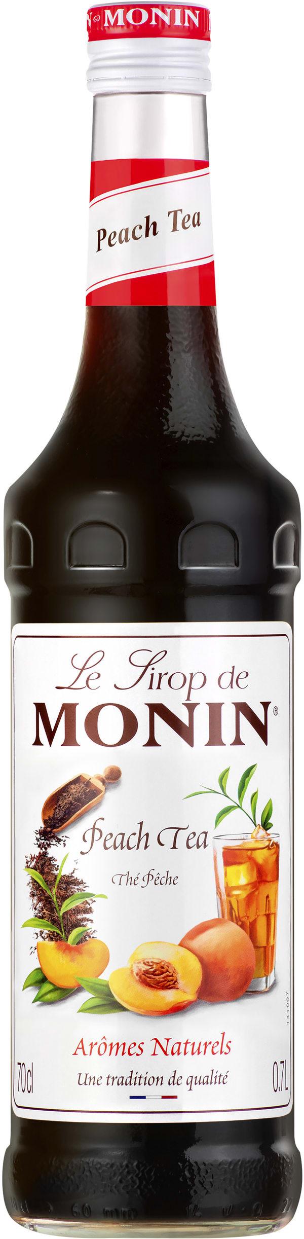 Le Sirop de Monin Peach Tea