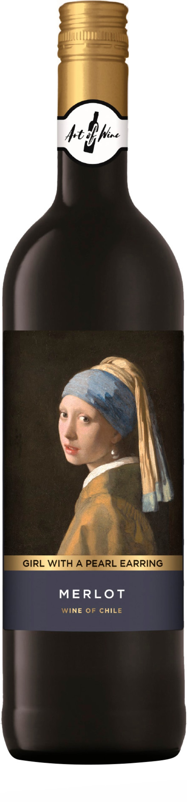 Girl With A Pearl Earring Merlot 2017