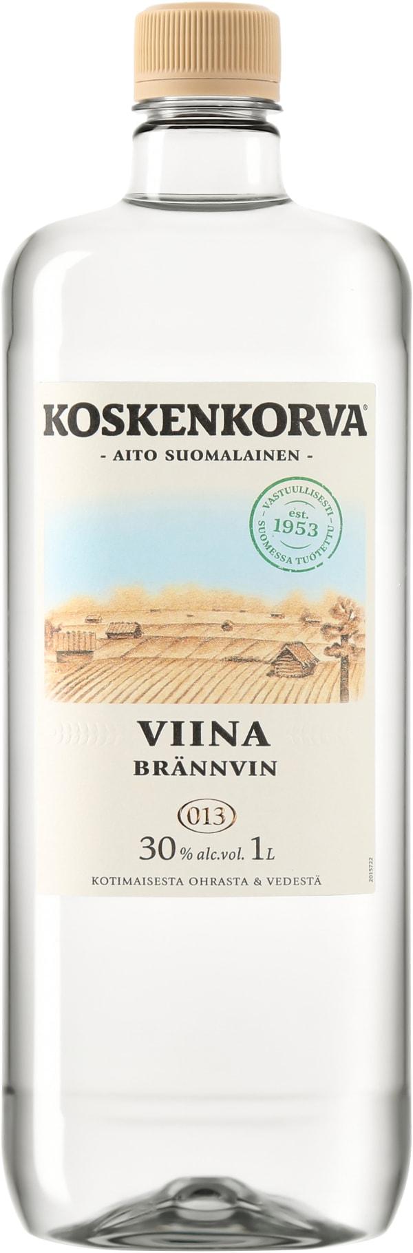 Koskenkorva Viina 30 % plastic bottle