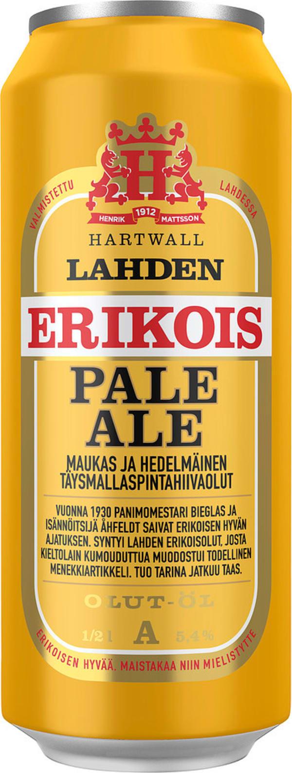 Lahden Erikois Pale Ale tölkki
