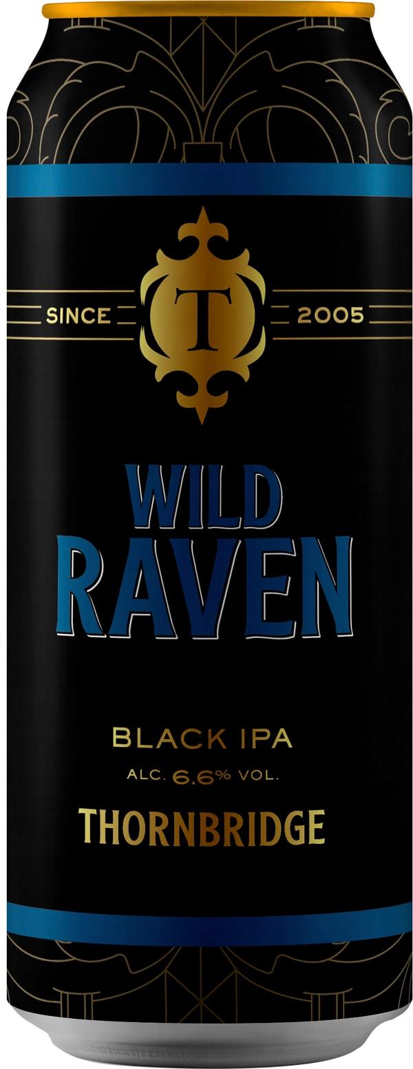 Thornbridge Wild Raven Black IPA burk